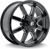 Диск литой 20x9.0J  5x114.3 Fuel Frontier Gloss Blk/Machined MHT  ET30 / 72.69