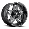 Диск литой 22x9.5J  5x150 Fuel Fullblown Black MHT  ET20 / 110