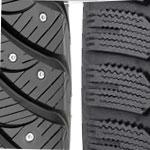 Фрикционные шины или шипованные